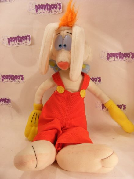 "VINTAGE 18"" WARNER BROS/DISNEY PLUSH ROGER RABBIT"